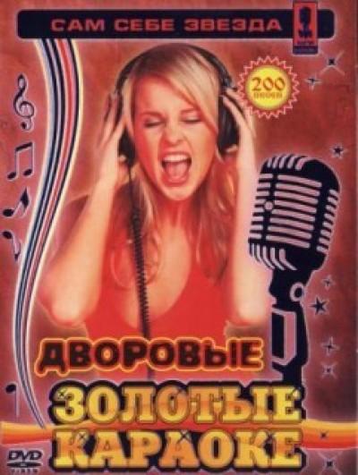 Дворовые песни 2010. 100 песен Шансона для любого DVD Видео Караоке