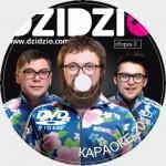 Дзидзьо (DZIDZIO) Караоке. Универсальный Диск DVD Видео для любого DVD плеера. 2020 год. 42 песни. 1 диск. DVD-5
