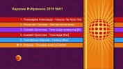 Караоке Избранное 2019 №01. Универсальный диск DVD Видео для любого DVD плеера. 24 песни. 1 диск. DVD-5