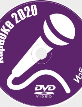 Караоке Избранное 2020 №12. Универсальный диск DVD Видео для любого DVD плеера. 100 песен. 2 диска. DVD-5
