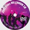 Караоке Дискотека Millennium 2.0. Универсальный Диск DVD Видео для любого DVD плеера. 2021 год. 50 песен. 1 диск. DVD-5. D-803