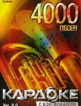 4000 песен для LG. DVD Видео Караоке. Версия 8