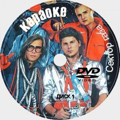 Сектор газа 2020. Универсальный караоке Диск DVD Видео. D-650