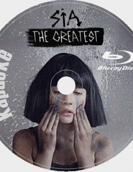 Sia (Сия) 2018 Караоке Диск Blu-ray Видео. 40 песен для любого Blu-ray плеера от KARAOKE-DISC.CLUB  студии