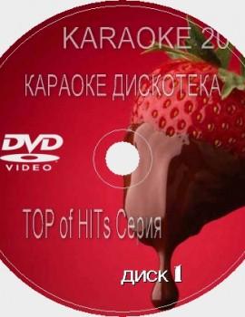 TOP of the HITs 3 Сезон 2016 Караоке. Универсальный Диск DVD Видео для любого DVD плеера. 2016 год. 200 песен. 4 диска. DVD-5. D-246