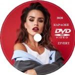Zivert (Юлия Зиверт) Караоке. Универсальный Диск DVD Видео для любого DVD плеера. 2020 год. 23 песни. 1 диск. DVD-5